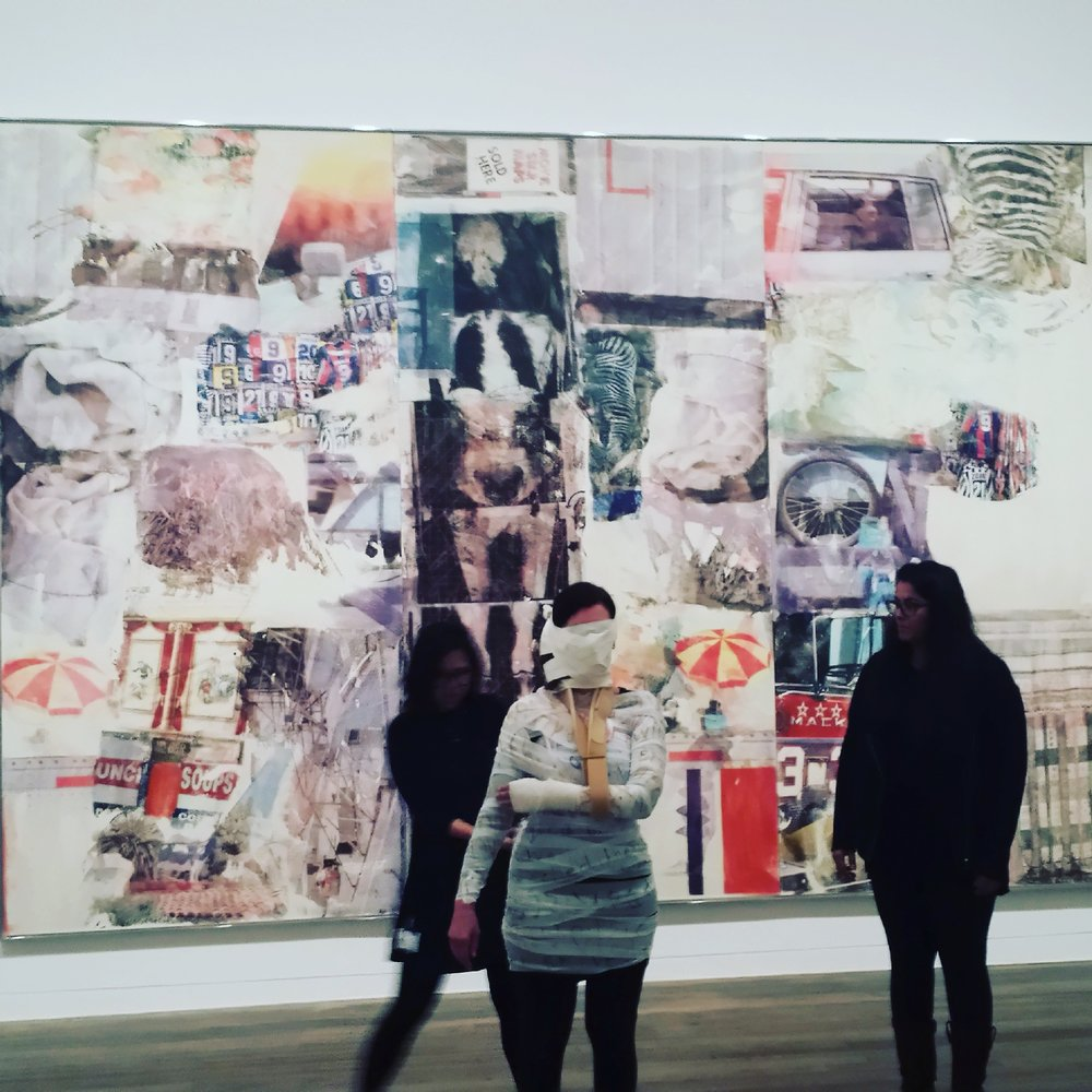 Tate Modern :  Inventing Rauschenberg