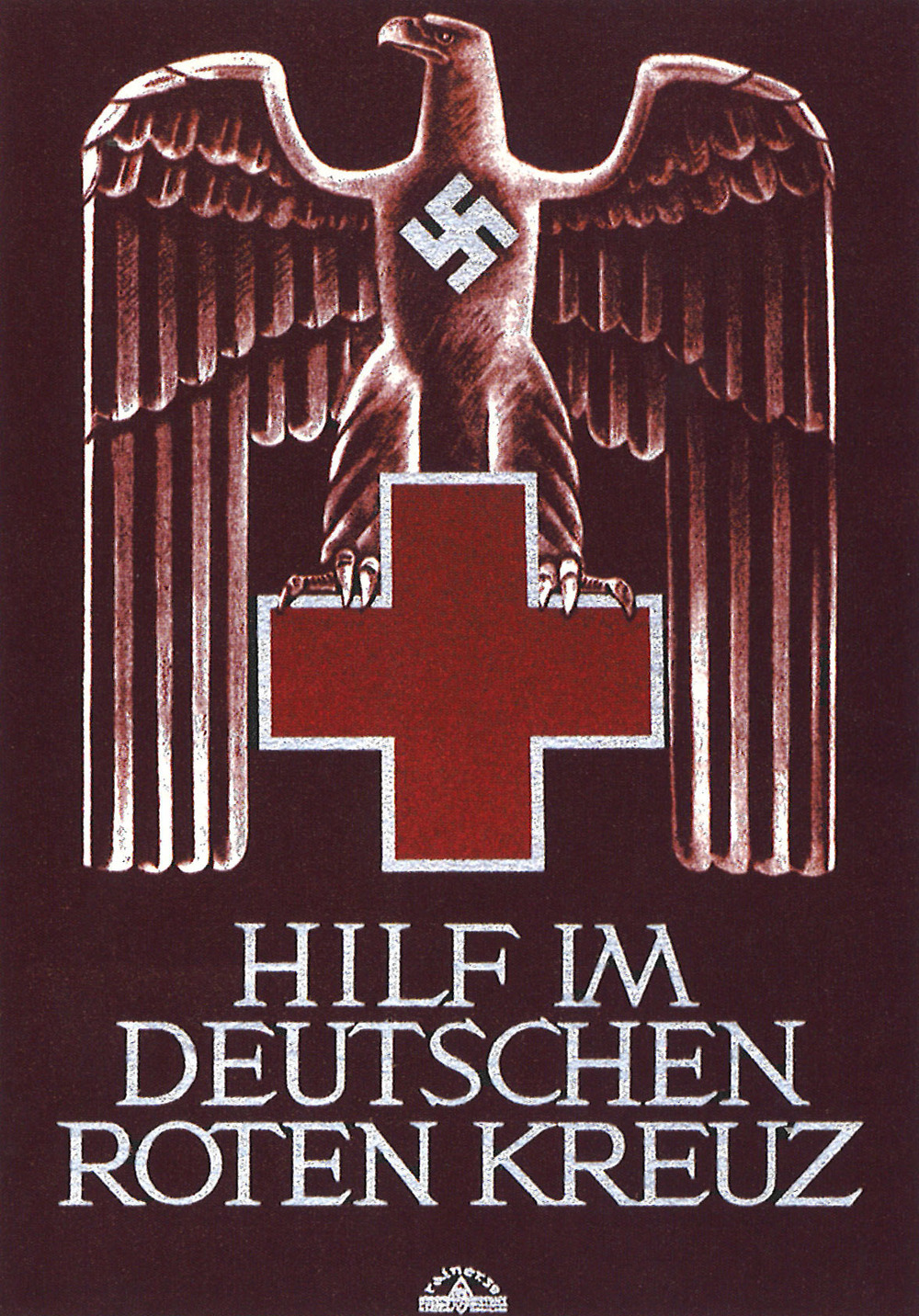 """Help the German Red Cross."" Germany 1941."