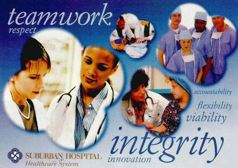 Suburban Hospital. Bethesda, Maryland. 1999.