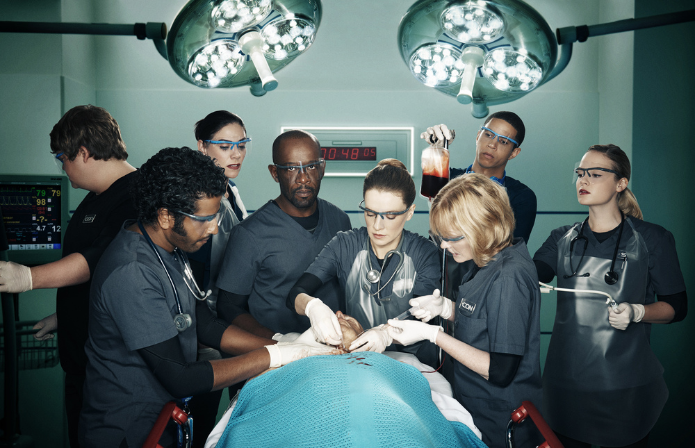 The cast of Critical.