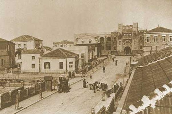רח׳ הרצל בתחילת המאה ה20