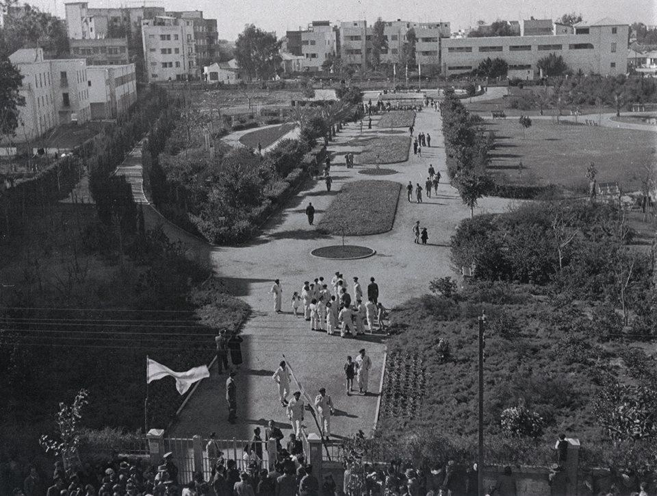 פתיחת גן מאיר, 1944