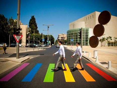 Tel Aviv gay mendmarks