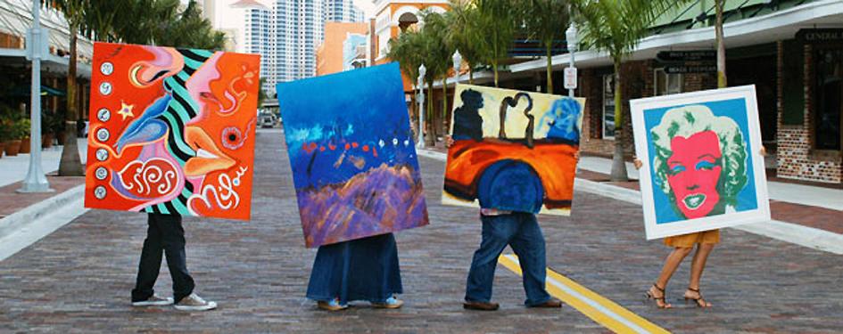 סיור אמנות בתל אביב