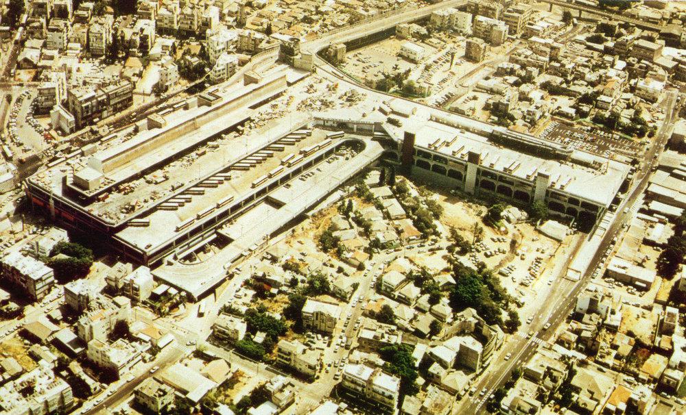 Tel Aviv new central bus station tour