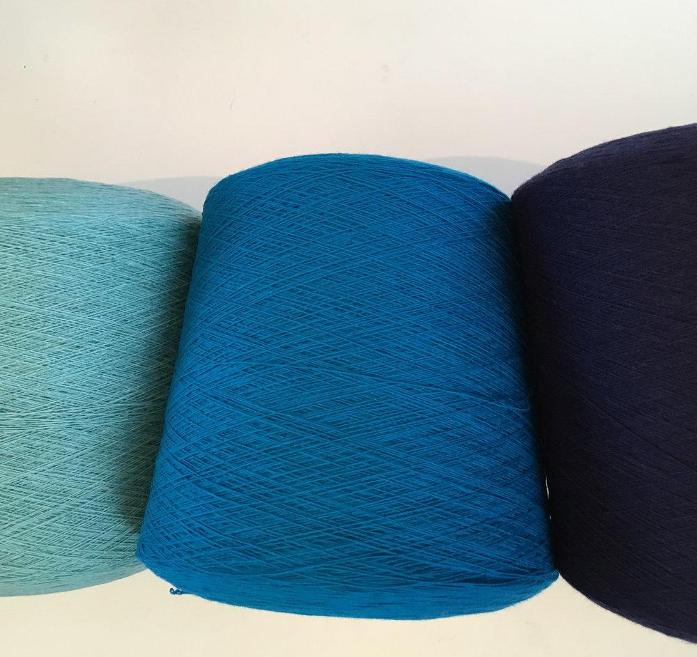Wool yarn, before knitting