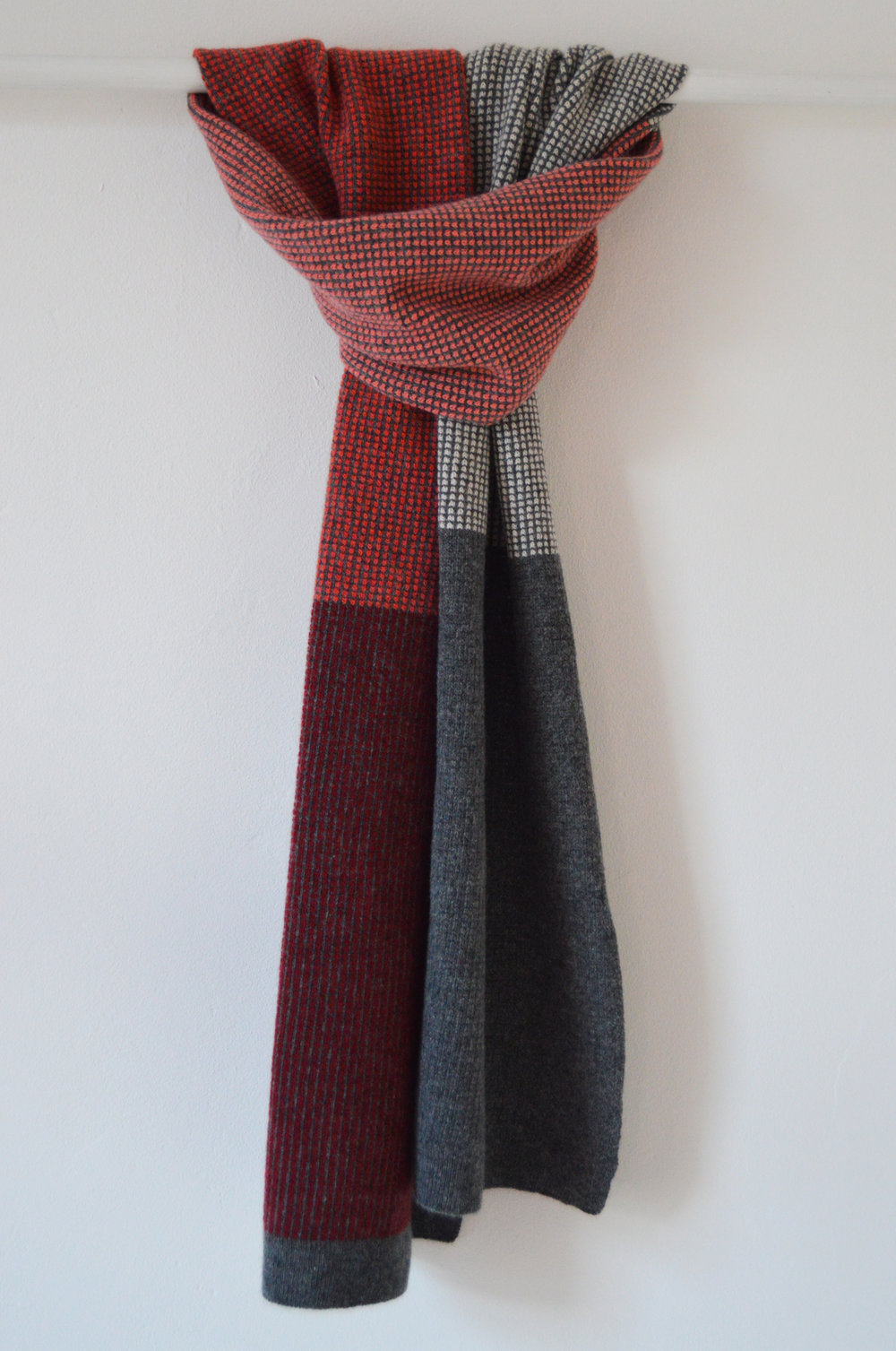 Jura Scarf, made with premium lambswool.
