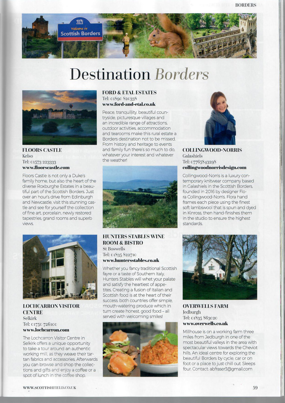 Scottish Field Magazine, January 2019