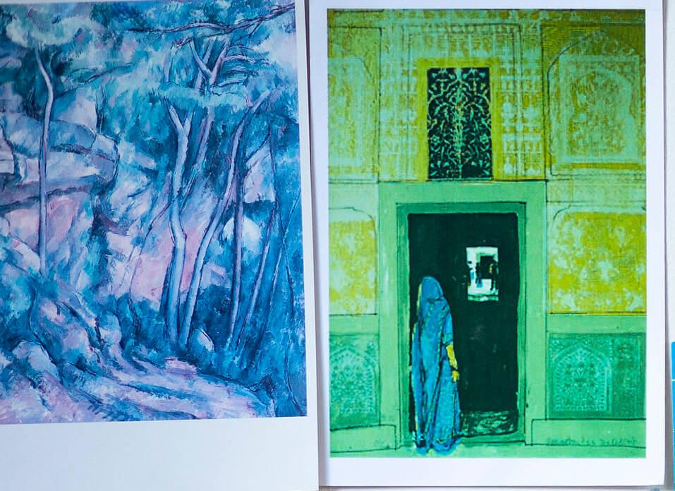 Cezanne and Jenny Martin