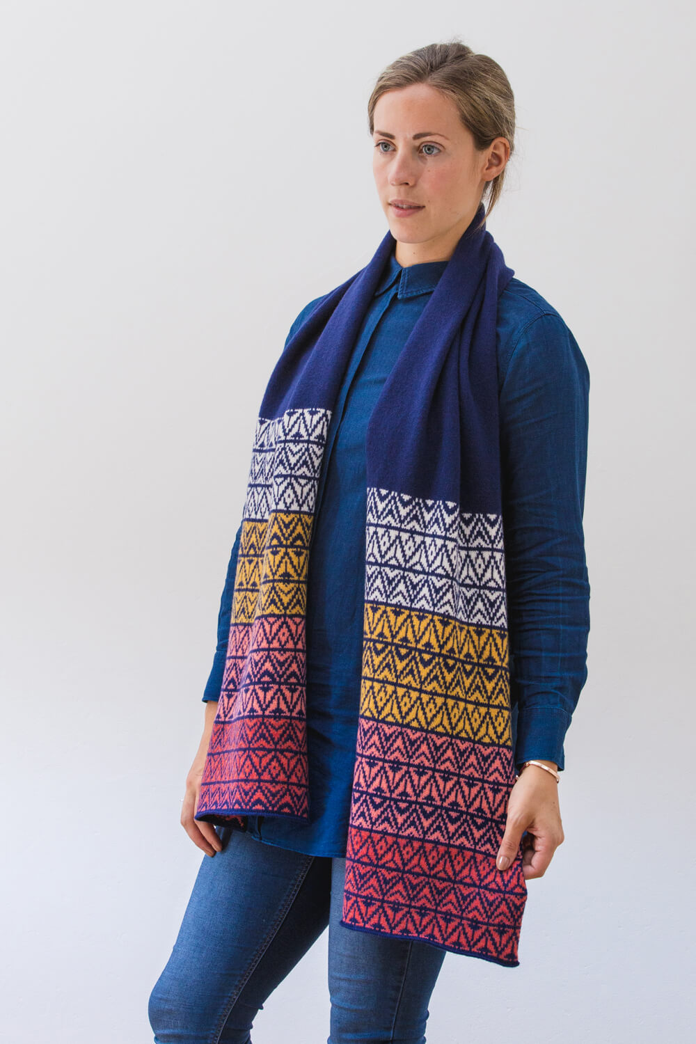 Yarrow Scarf- available while colours last.