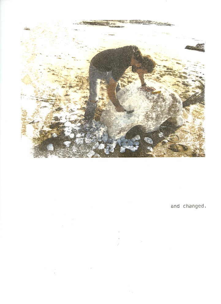 Christine Kettaneh, a story , photo transfer on paper, no.4/8 ed.2/3, 2012.