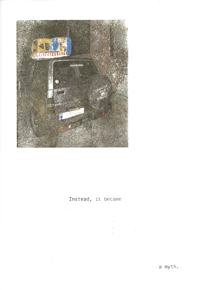 Christine Kettaneh, a story , photo transfer on paper, no.8/8 ed.2/3, 2012.
