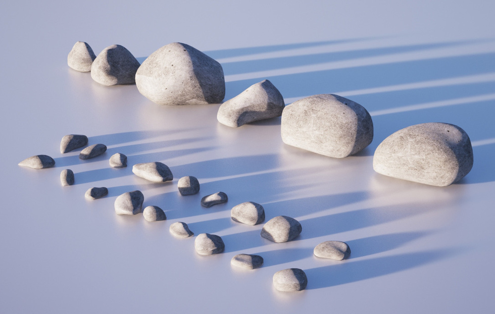 Gravel and pebble geometry
