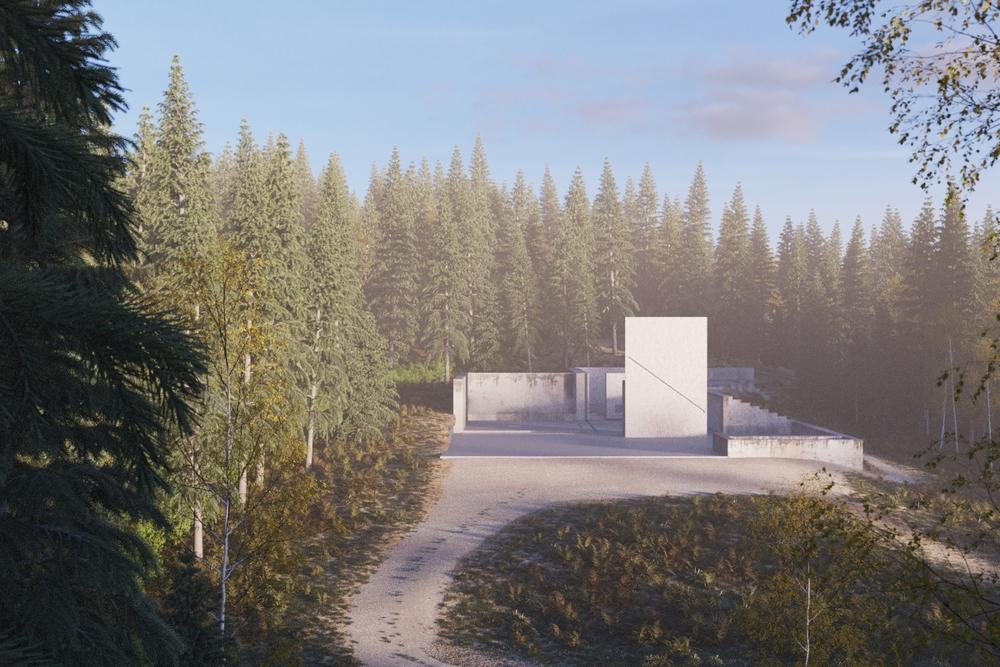 Combined landscape & building base + FOG (got a little carried away perhaps?)