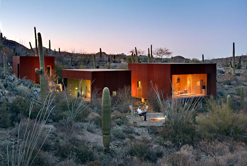 Rick Joy's Desert Nomad House