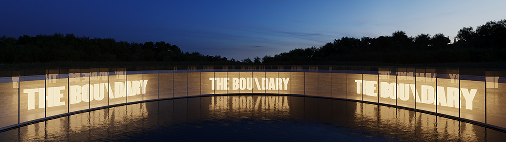The Boundary Architectural Visualisation
