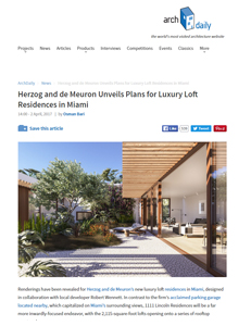 1111 Lincoln Road - ArchDaily