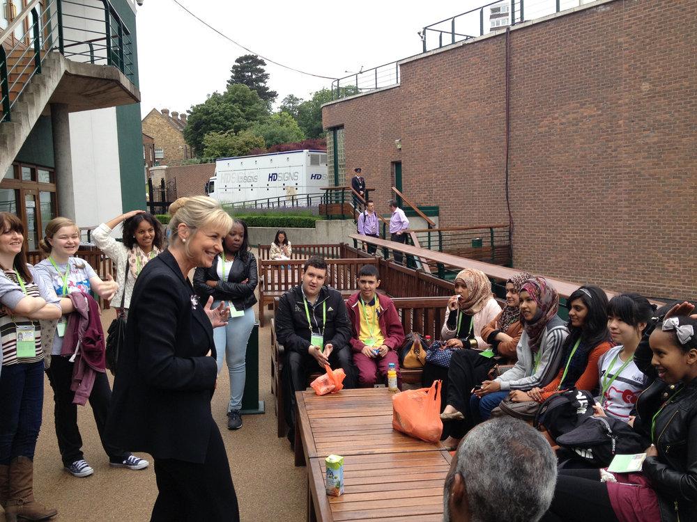 Wimbledon 2013 BBC Carole Talk .jpg