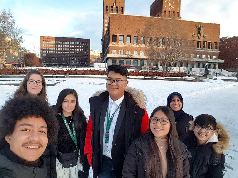 Oslo City Hall - Selfie
