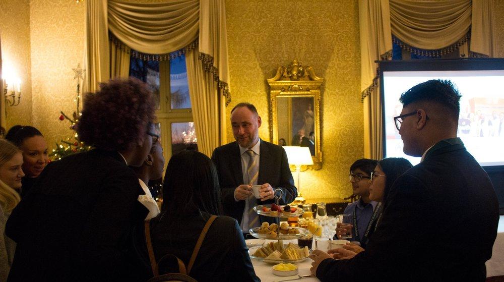 British Ambassador to Norway RF Reception