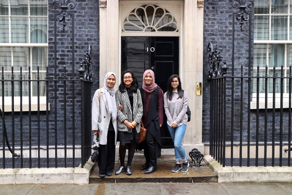 Young Leaders at 10 Downing Street