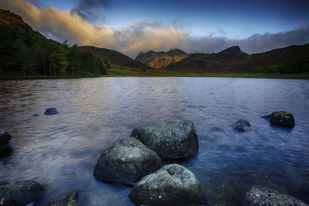 Blea Tarn at sunrise