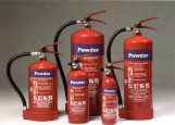 THE DRY POWDER FIRE EXTINGUISHERS.  - 1,2,4,6,9  KILOGRAM MULTI PURPOSE USE.FOR USE ON: PAPER, WOOD, TEXTILES, ELECTRICAL, FLAMMABLE LIQUIDS & FLAMMABLE GASES.
