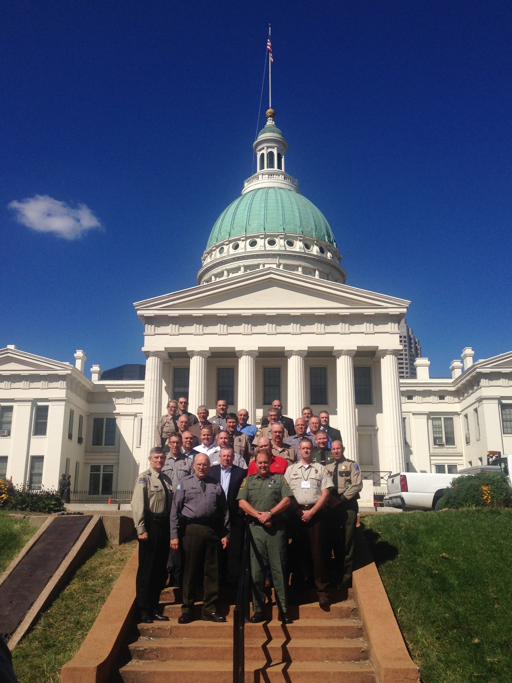 NACLEC members attending the Association of Fish and Wildlife Agency meeting in St. Louis September 21-24, 2014.