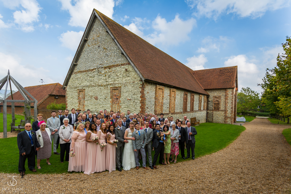 Leonie & Barry - The Tithe Barn - Hampshire