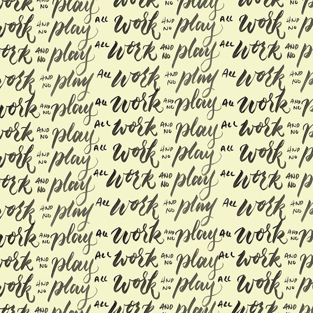 ...make Mimi a dull boy. 😩 #ligaturesyyz #handlettering #handrawn #typespire #typematters #typography #typographyinspired #goodtype #thedesigntip #thedailytype #handmadefont #baselineco #typegang #brushtype #theshining #heresjhonny #redrum #comeplaywithus