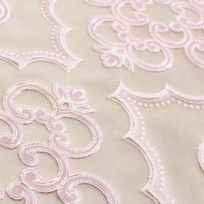 "Versailles Blush  8' drape, 132"" round"