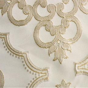 """Versailles Antique  8' drape, 132"""" round"""