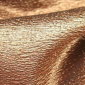 """Luxe Copper  132"""" round, 8' drape"""