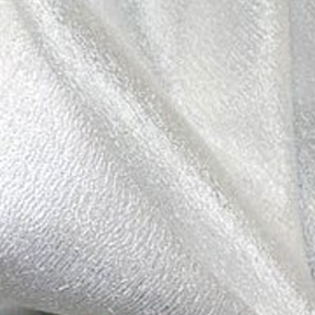 "Luxe Pearl 132"" round, 8' drape"