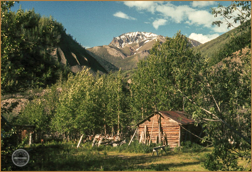 Chitiu mining camp, summer.
