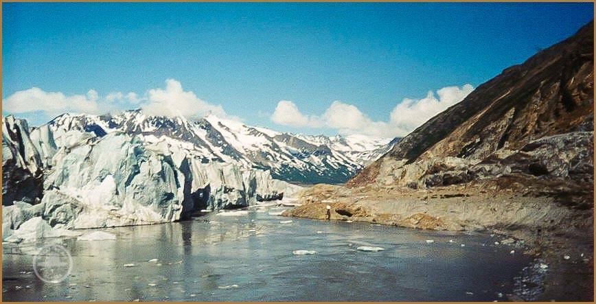Tana Glacier calving terminus, pre 2000