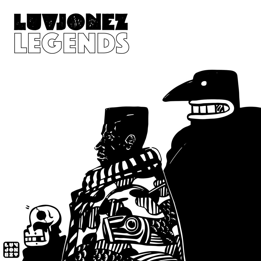 Luvjonez - LEGENDS album 2018