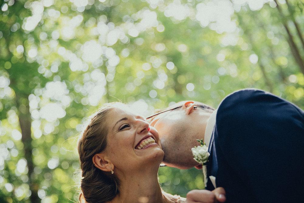 Jacob Lund og Katrine Andersen bryllupsportrætter