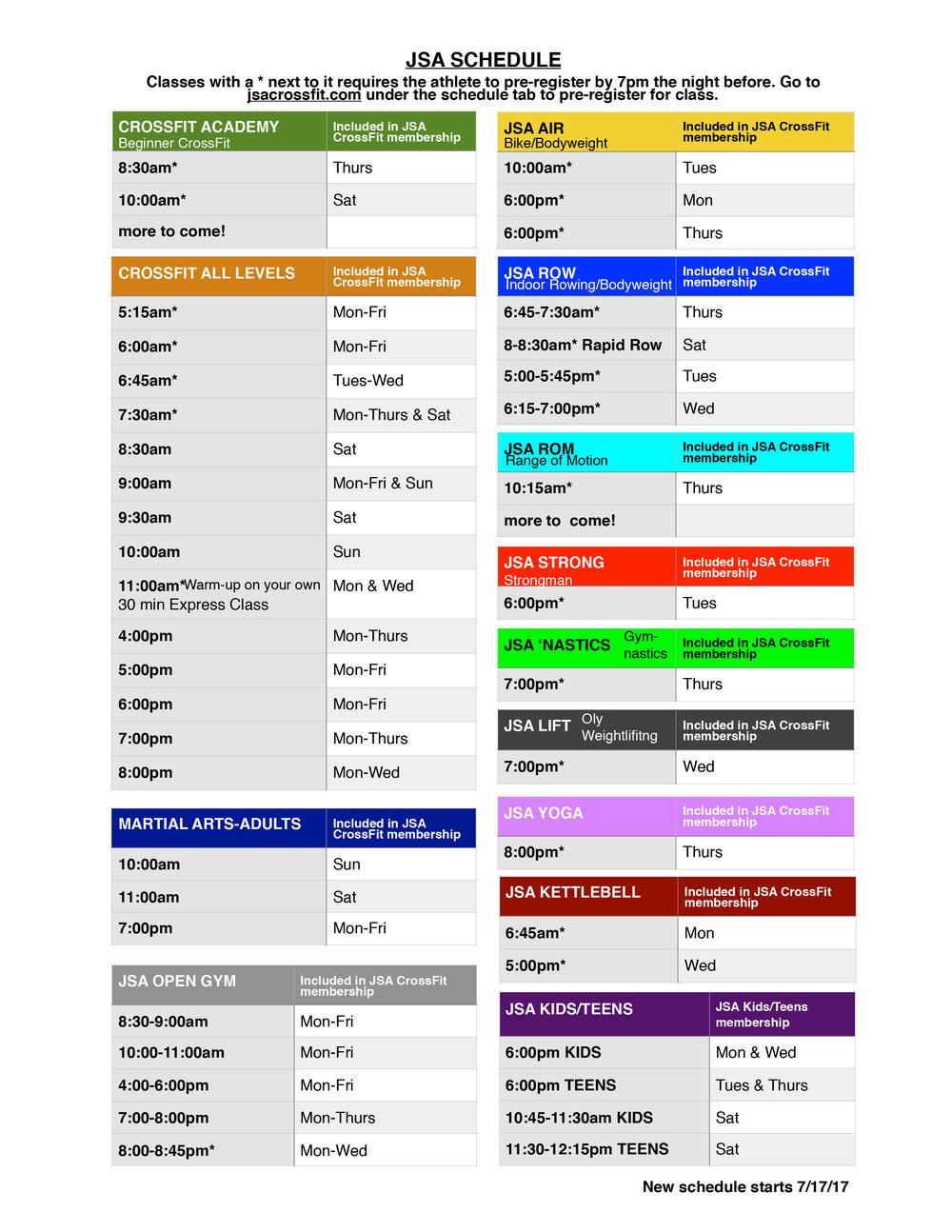 CrossFit schedule 8.2017 jpg