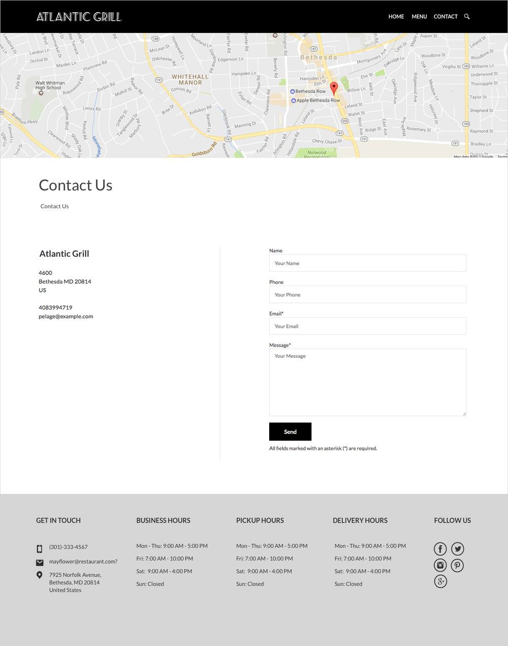 clover online ordering template marni prince
