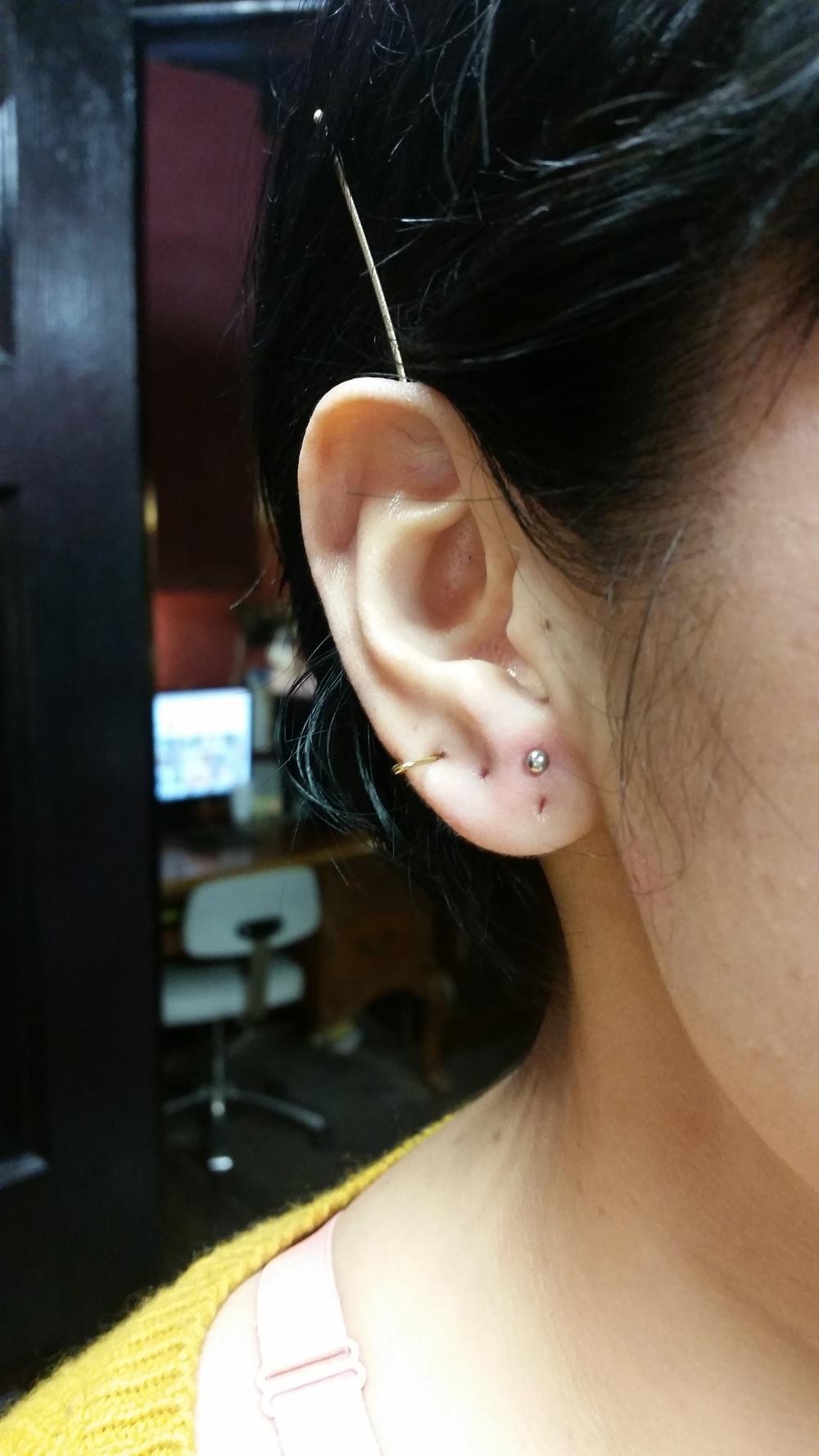 Higher Lobe Piercing