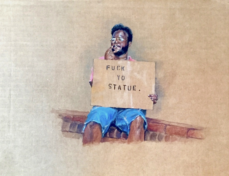 Fuck Yo Statue