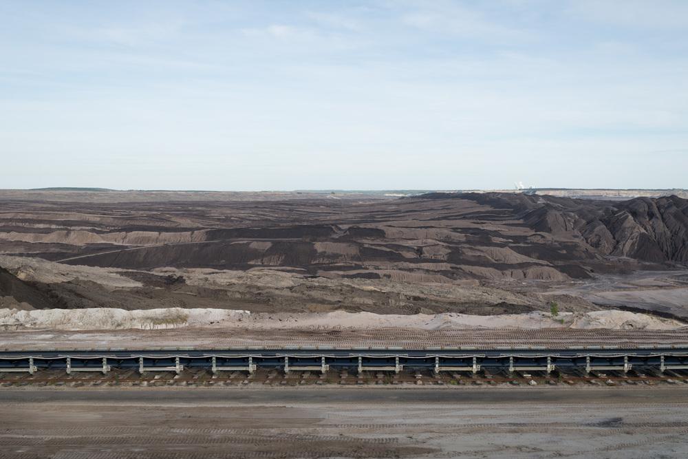 Abraumhalde Tagebau Welzow Süd