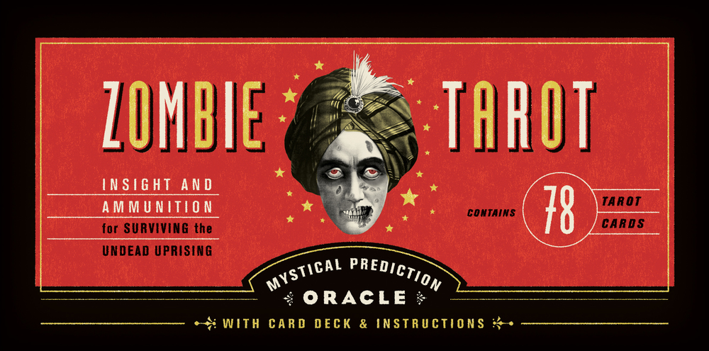 how to read zombie tarot cards
