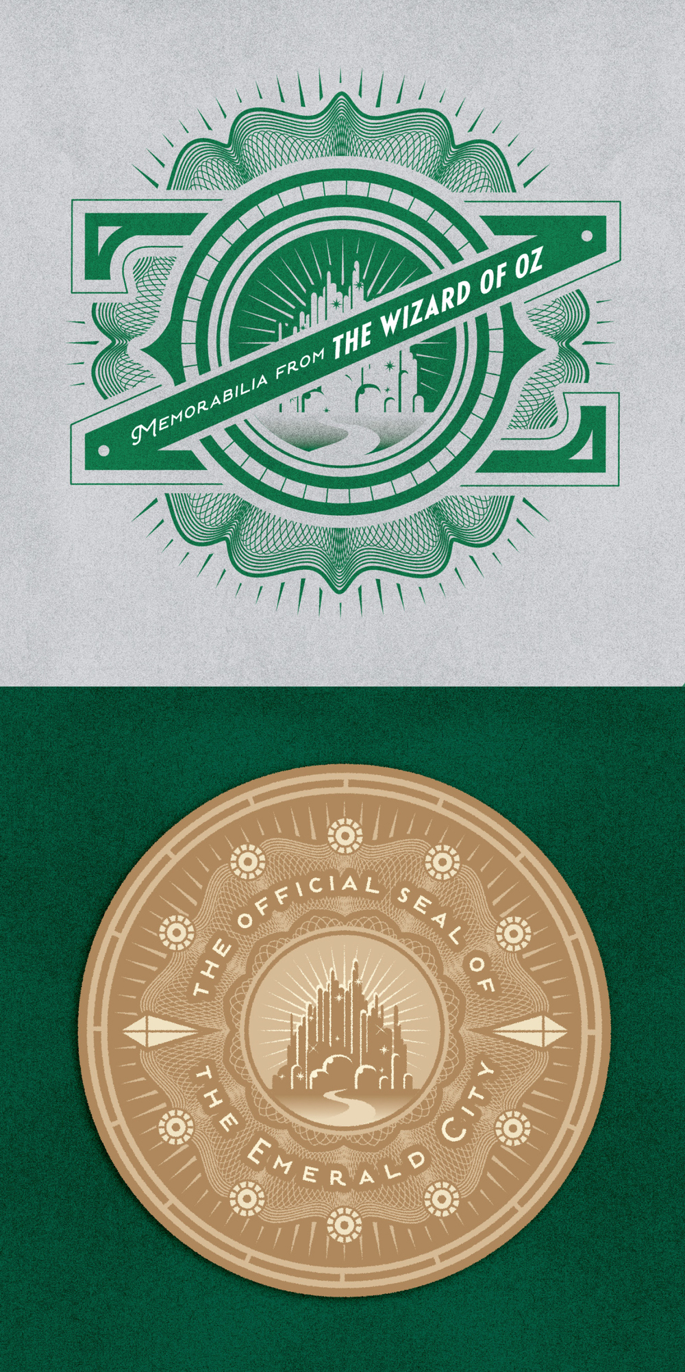The Wizard of Oz • Lettering & Seal Design