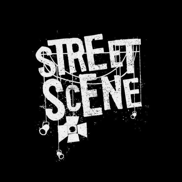 Street Scene •  Lettering