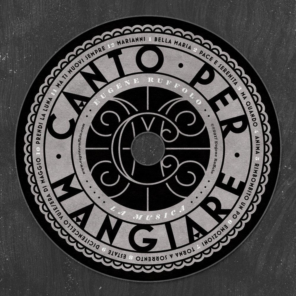 Canto Per Mangiare •  Lettering