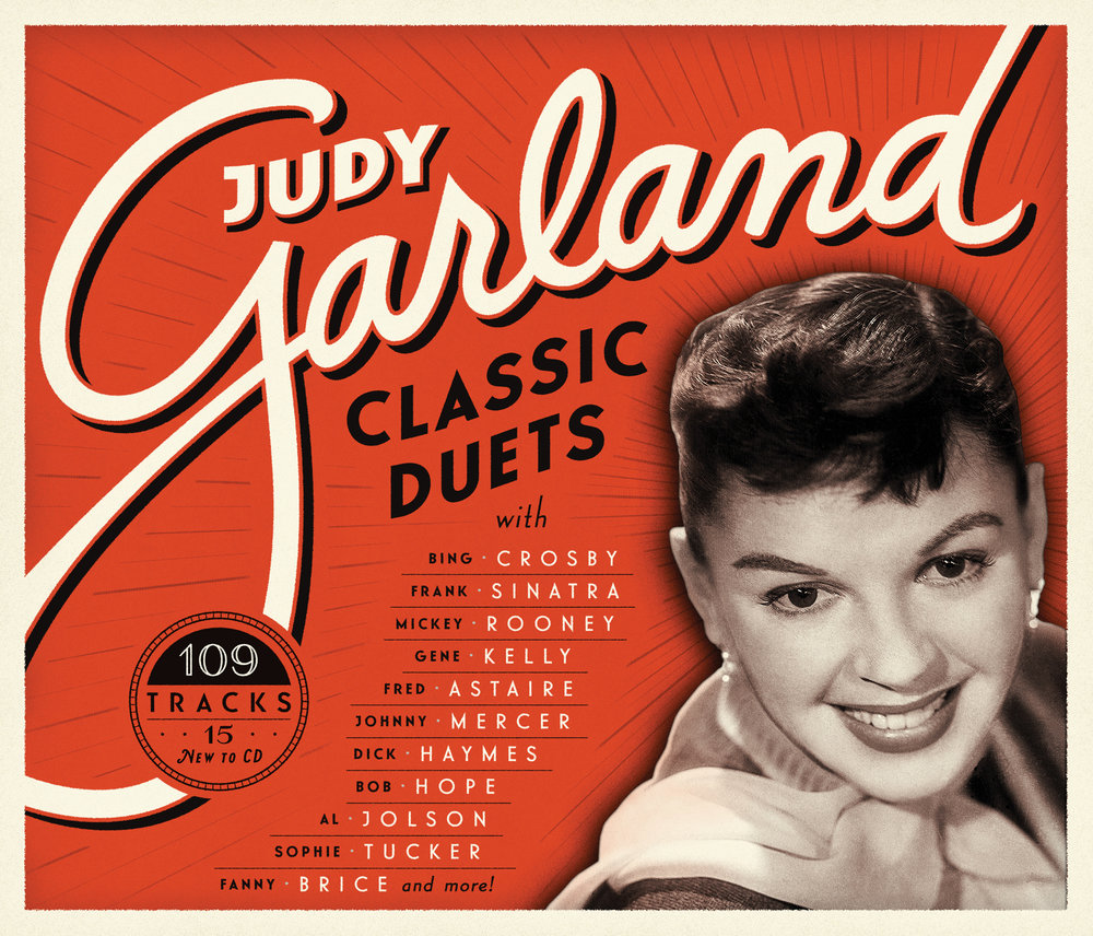 Judy Garland: Classic Duets • Lettering & Typography