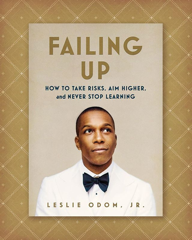 "Thrilled to see the super-talented @LeslieOdomJr singing ""America the Beautiful"" at the Super Bowl! I designed his wonderful book ""Failing Up"" that comes out next month!"