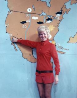 Jane Martin, Weather Girl, WCHS-TV
